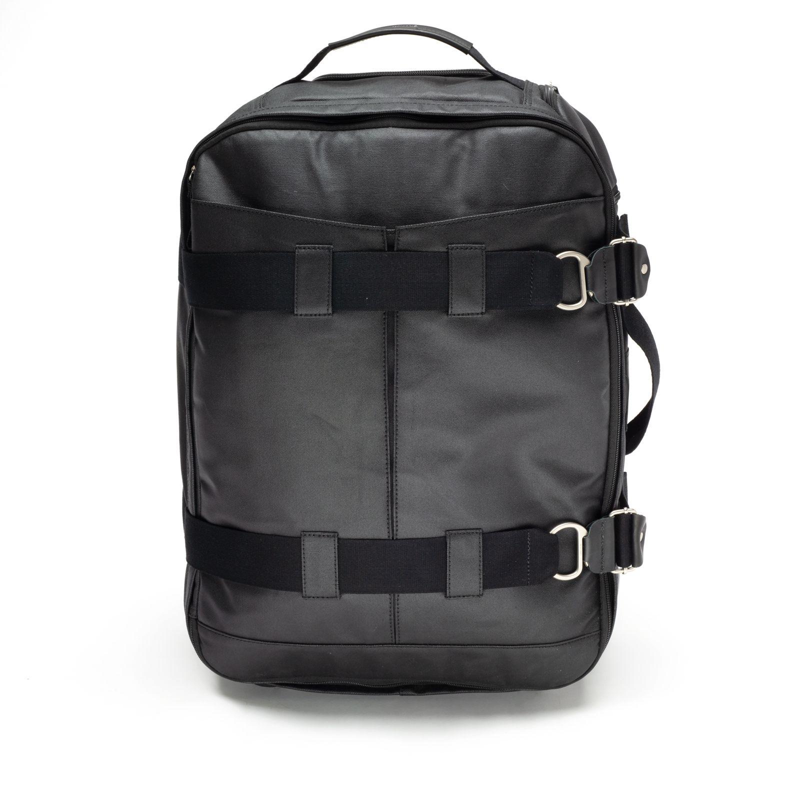 3-Day Travel Bag - Organic Jet Black