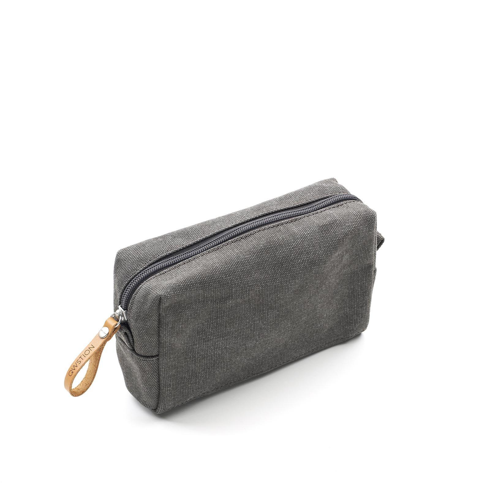 Amenity Pouch - Organic Washed Grey