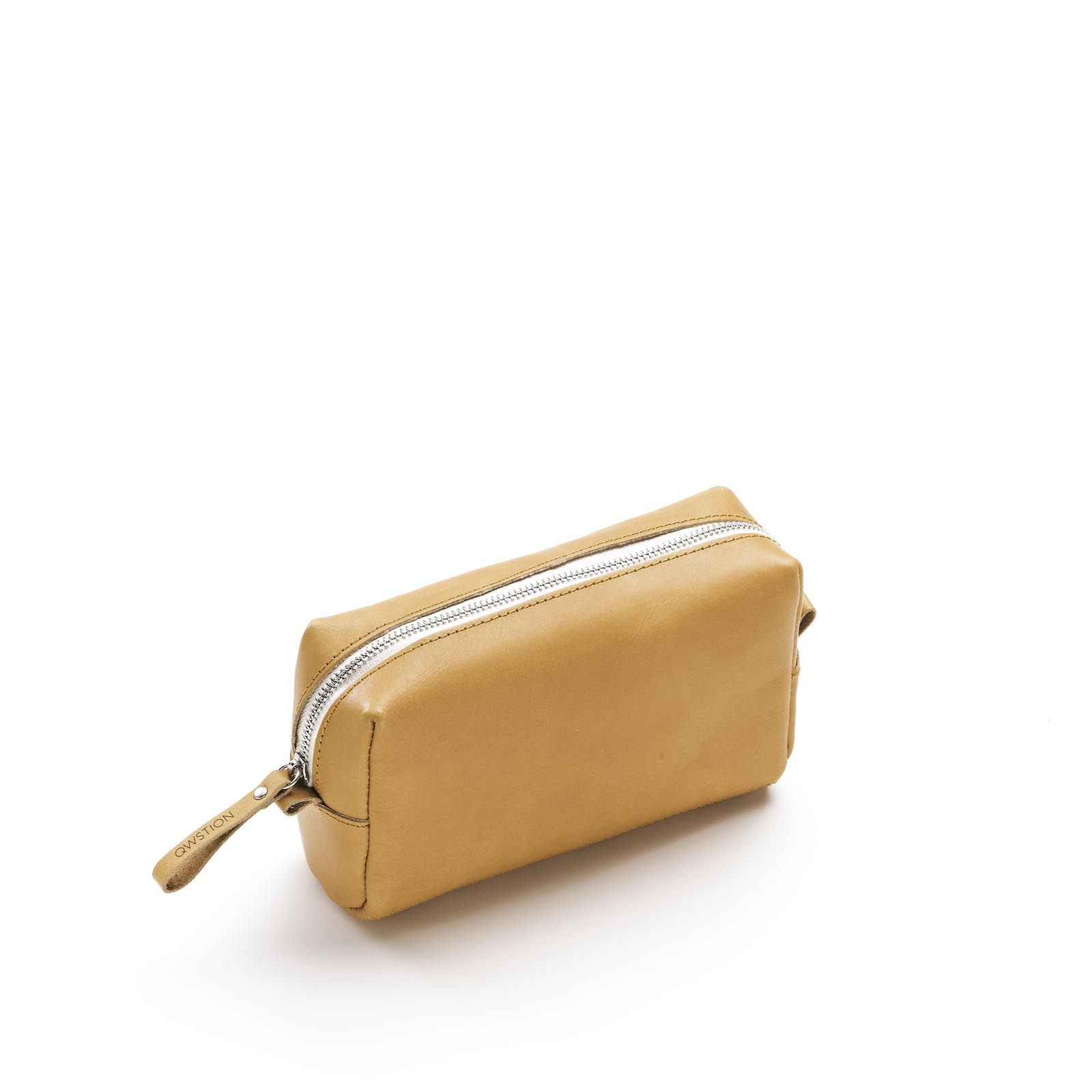 Amenity Pouch - Raw Blend Natural Leather