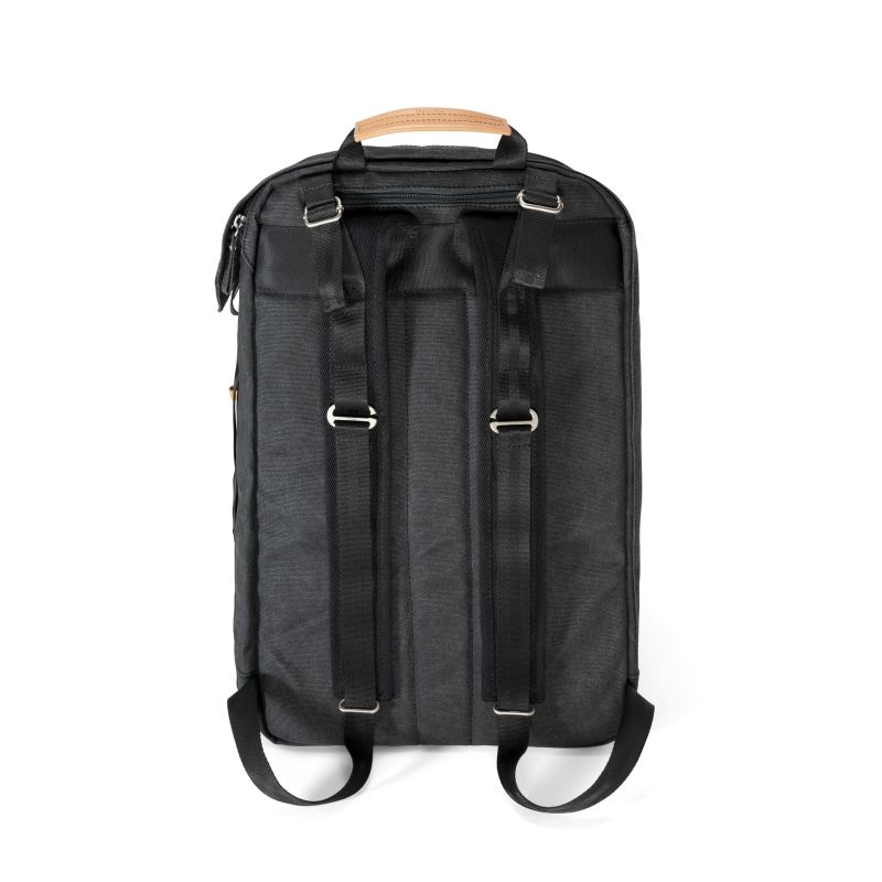 Backpack - Organic Washed Black