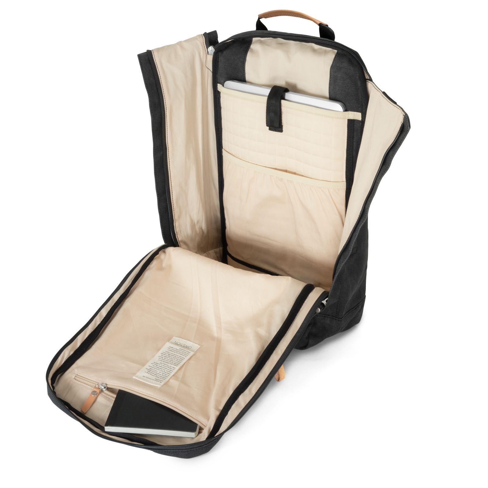 Backpack - Organic Washed Black
