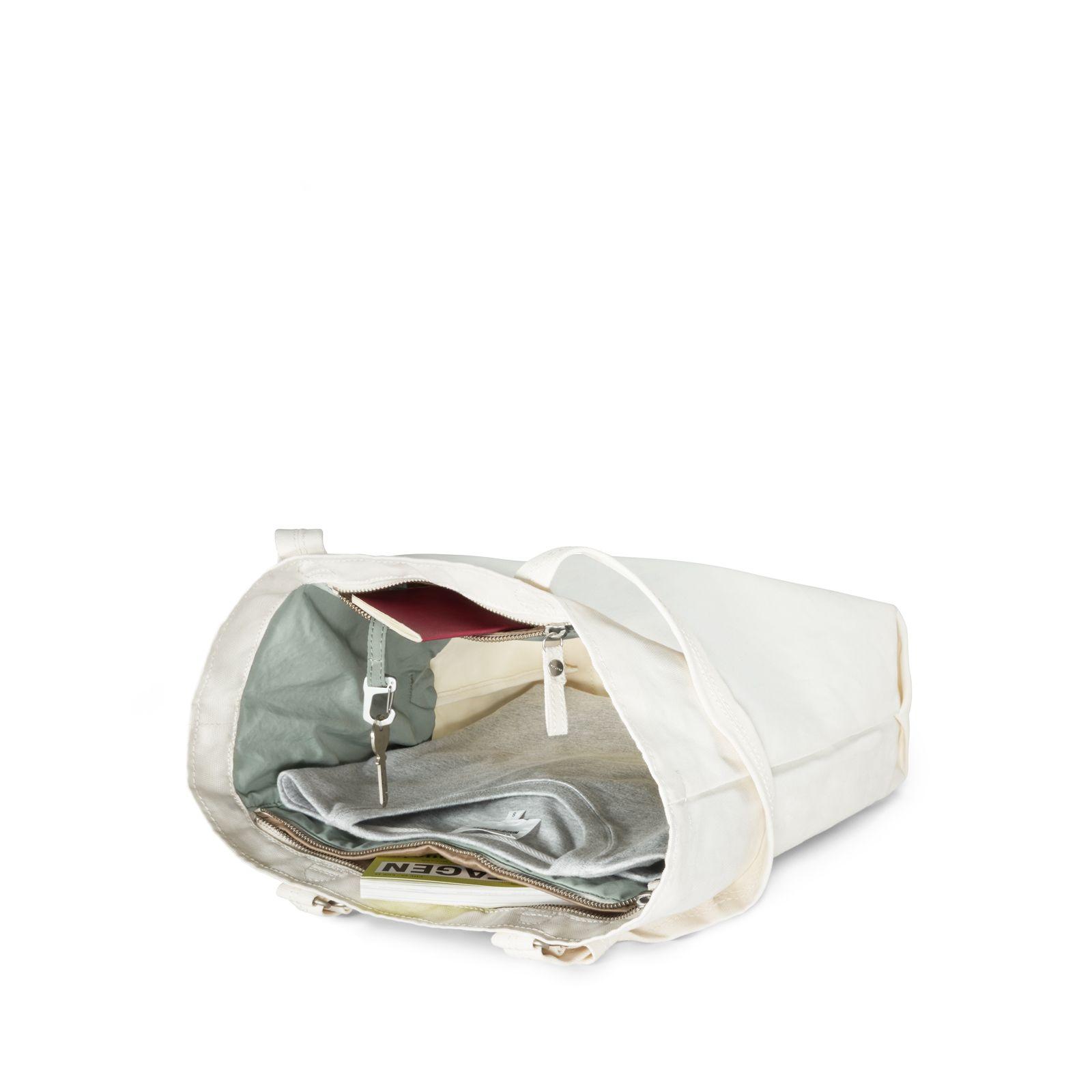 Bananatex® Tote Bag Medium - Natural White Heron