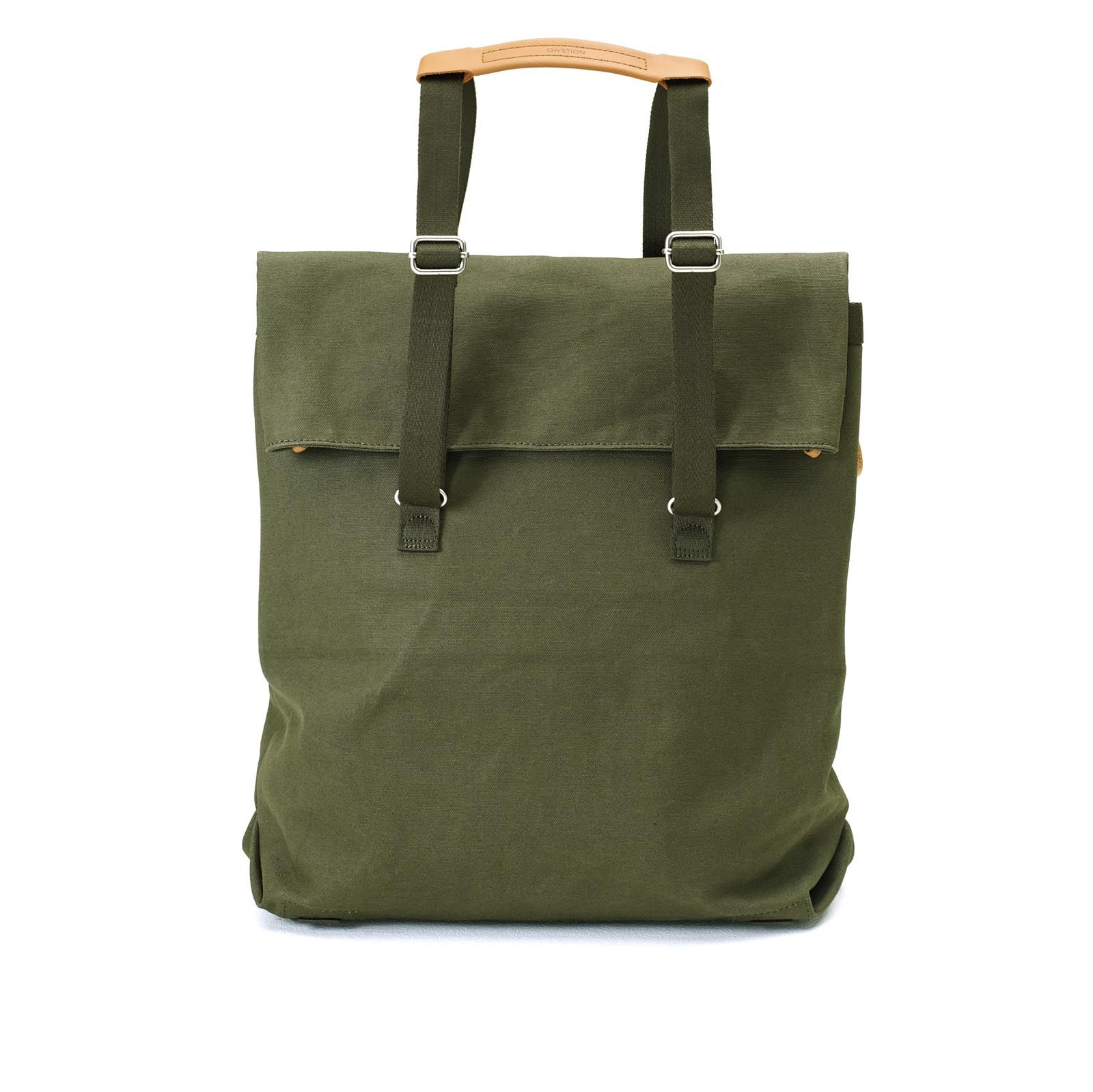 Day Tote - Organic Forest Green