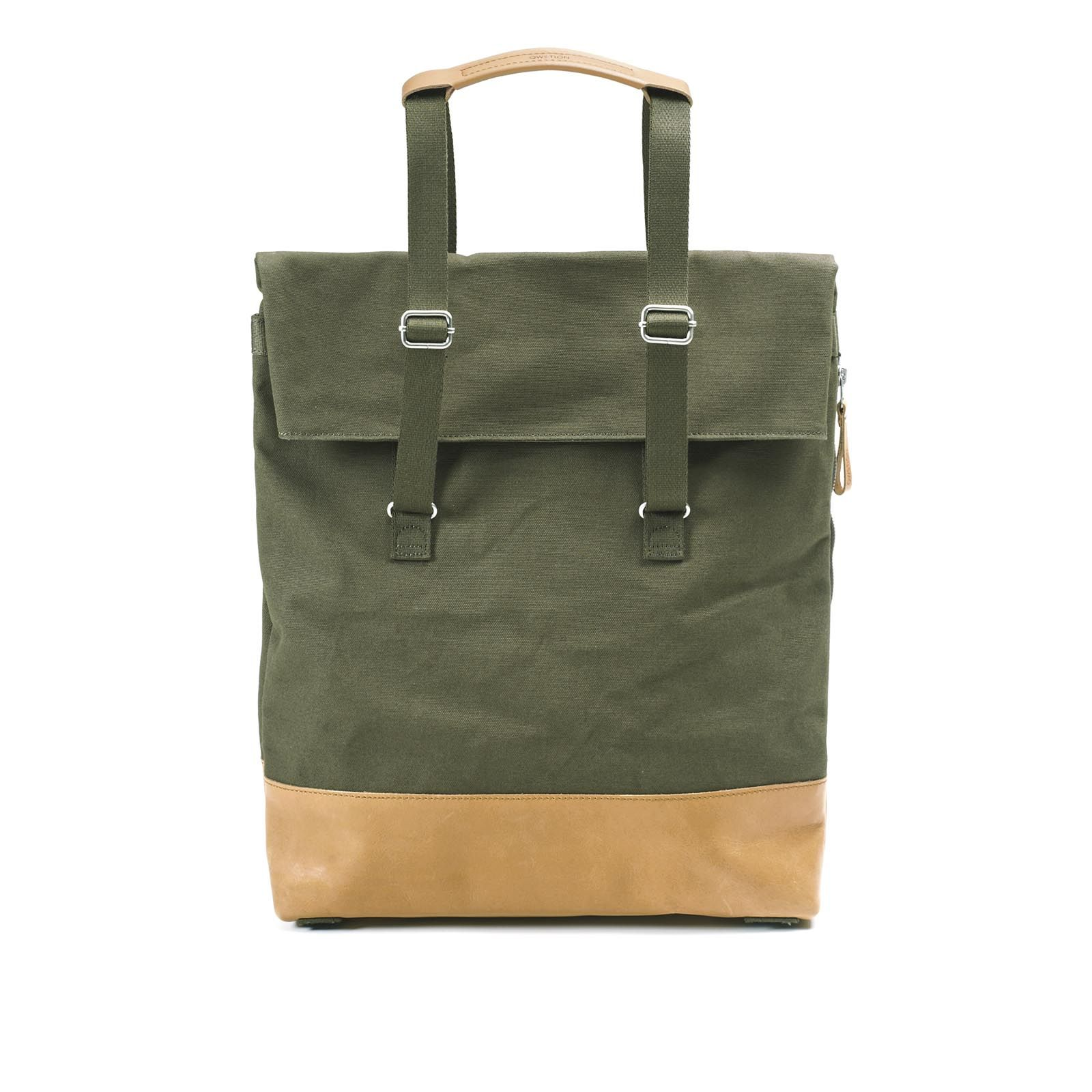 Day Tote - Organic Forest Leather