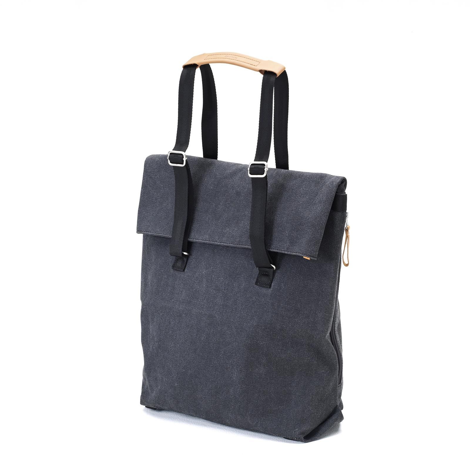 Day Tote - Organic Washed Black