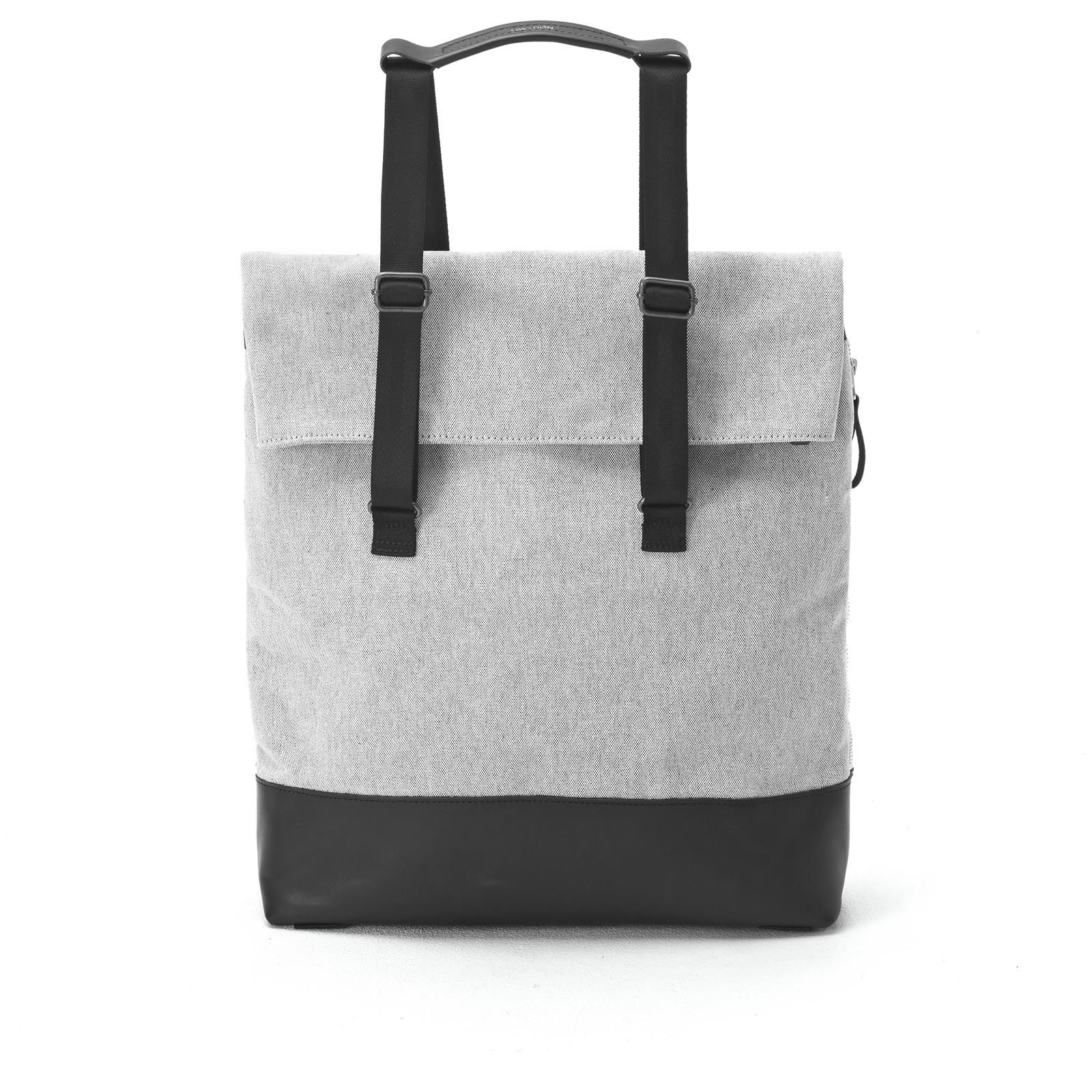 Day Tote - Raw Blend Leather Canvas
