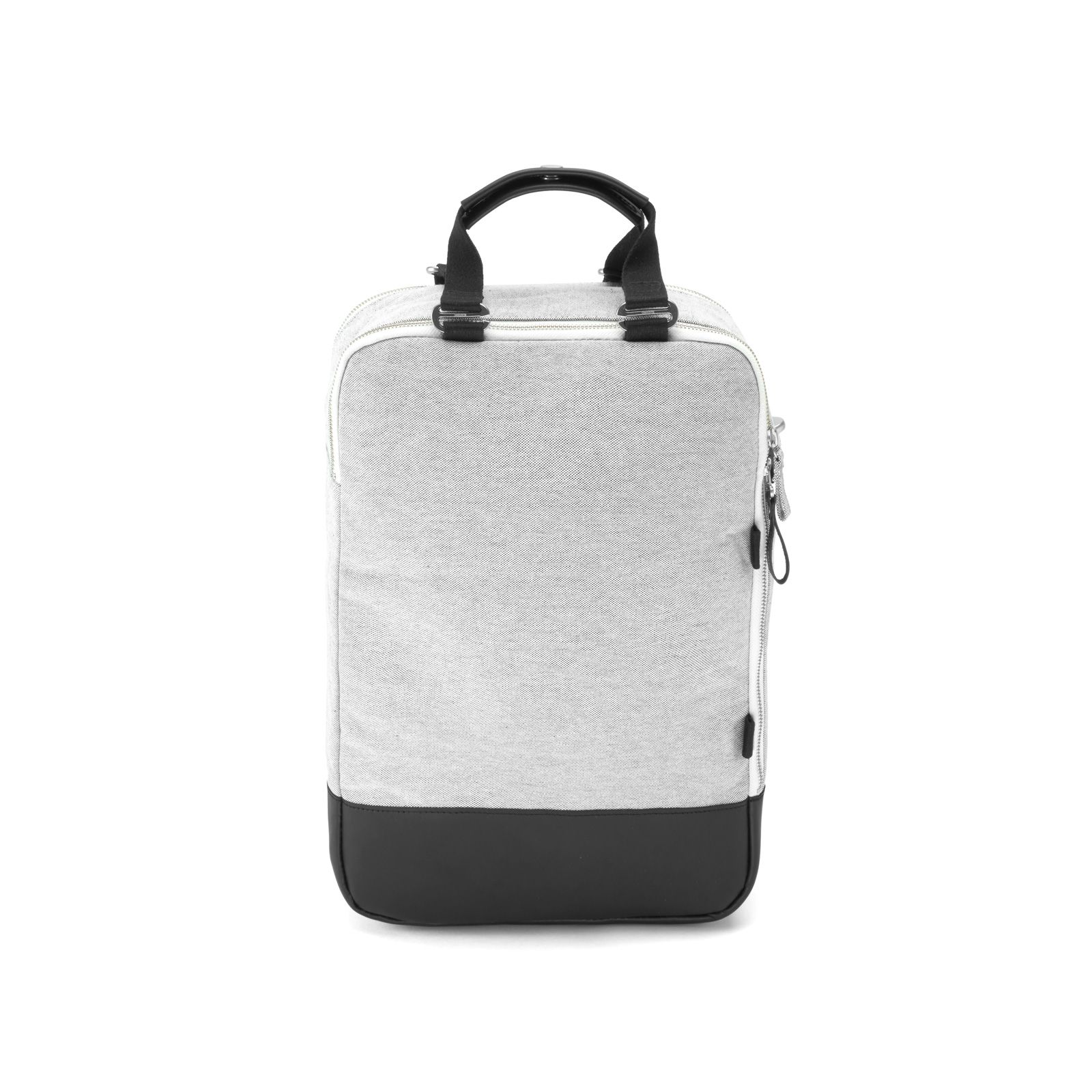 Daypack - Raw Blend Leather Canvas