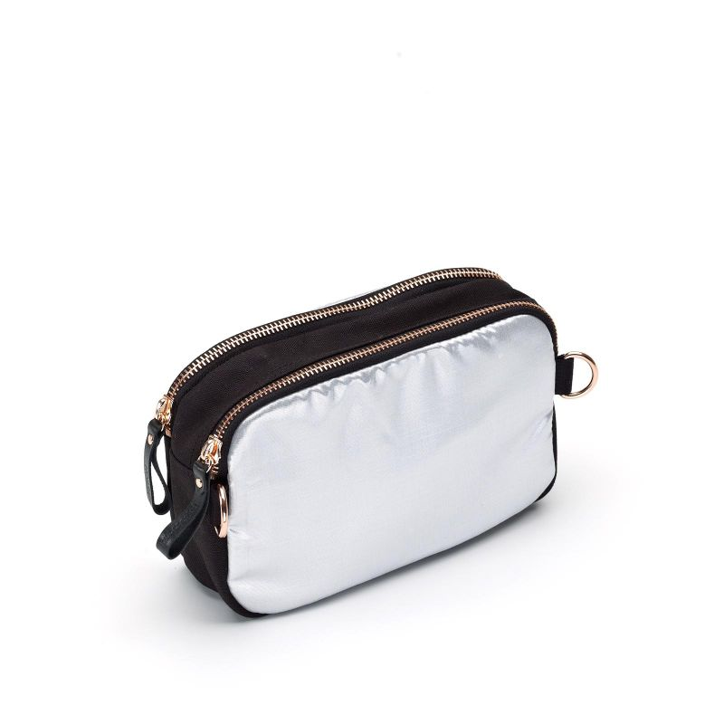 QWSTION + HuberEgloff Hip Bag - Moonshine Silver