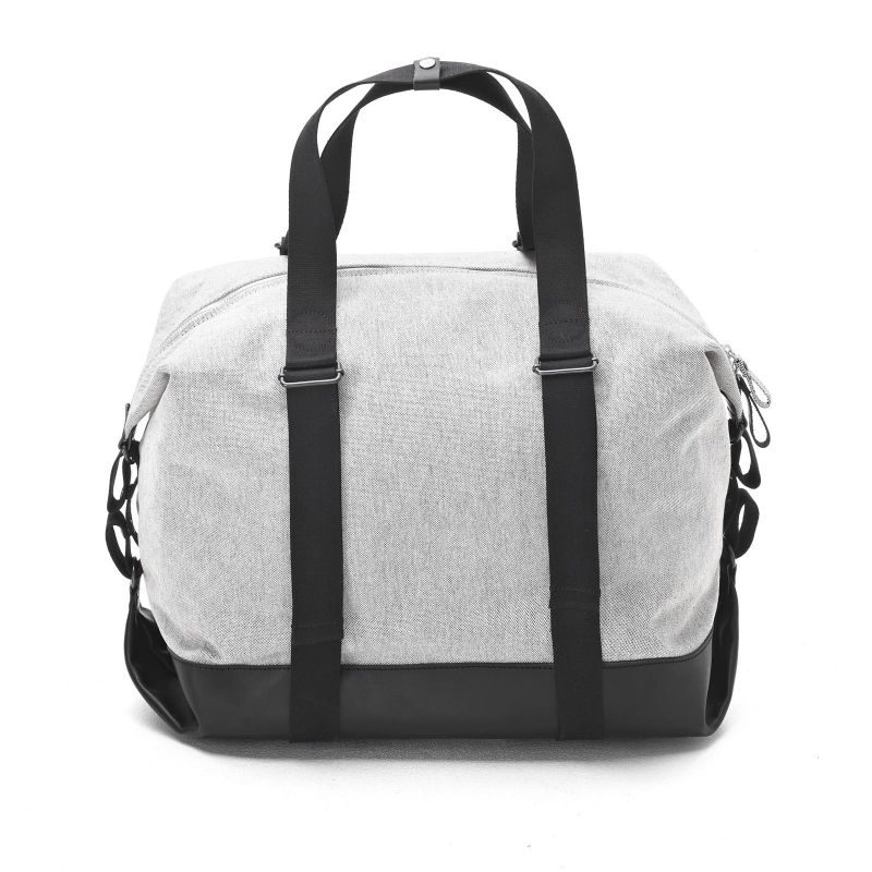 Simple Holdall - Raw Blend Leather Canvas