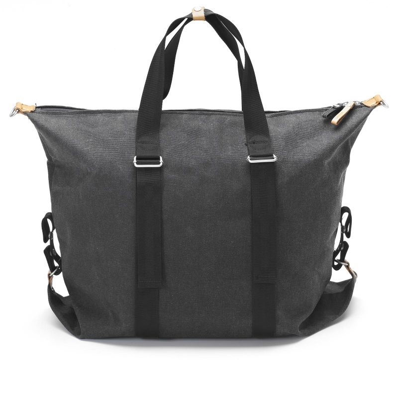Simple Holdall - Washed Black