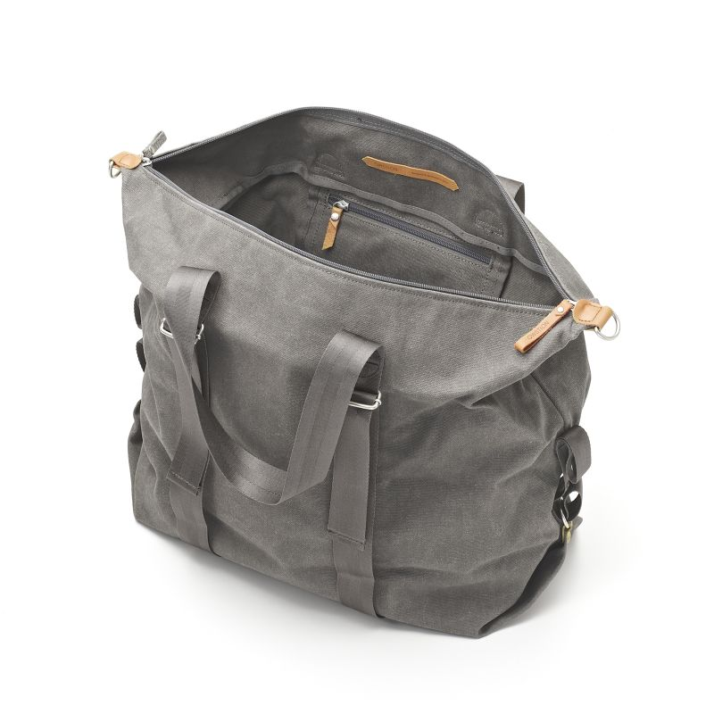 Simple Holdall - Washed Grey