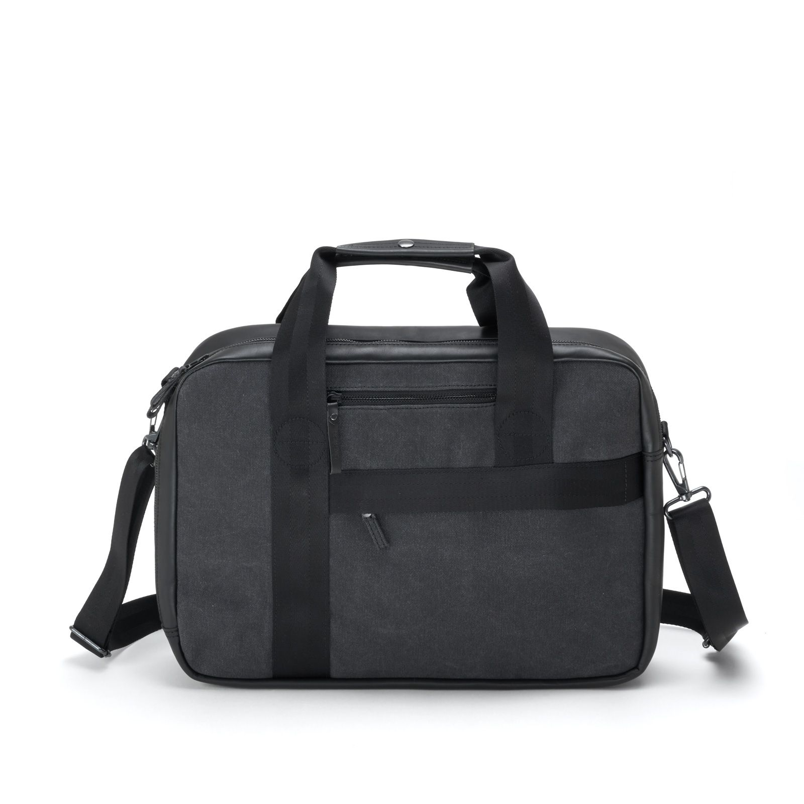 Office Bag - Graphite Leather