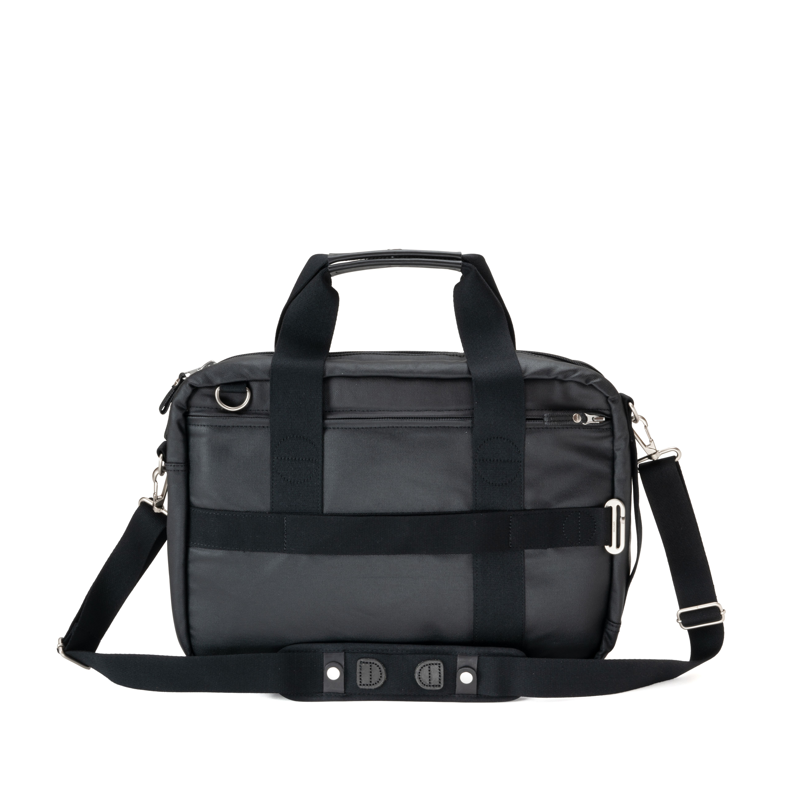 Office Bag - Organic Jet Black