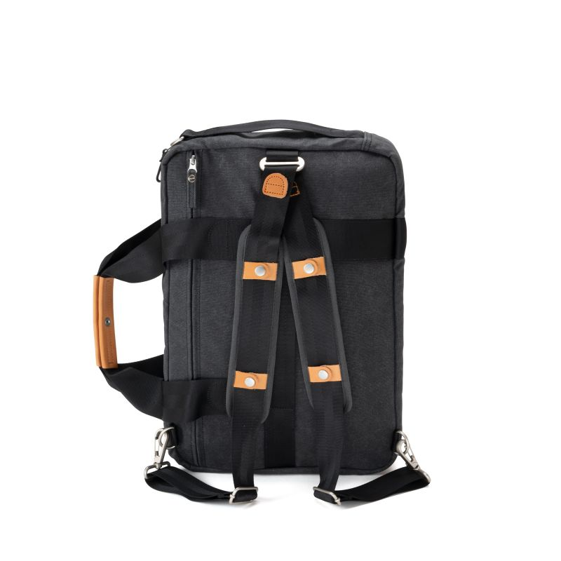 Office Bag - Organic Washed Black