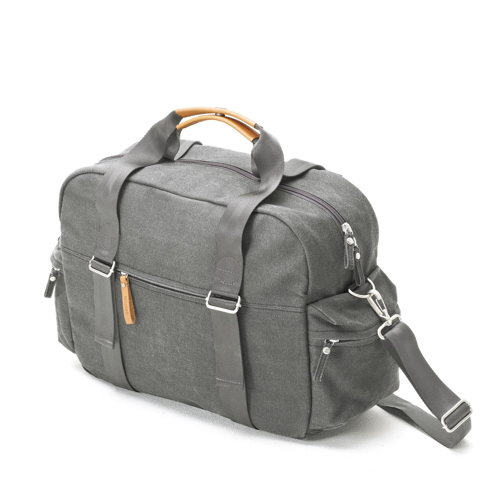 Overnighter - Washed Grey
