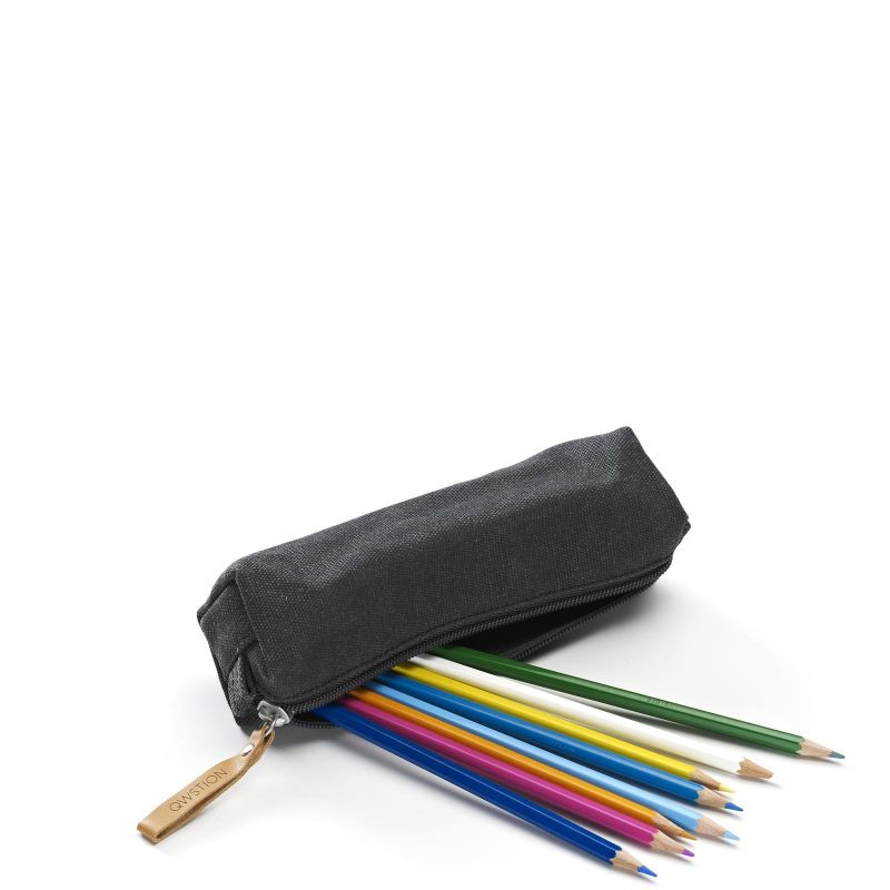 Pencil Pouch - Organic Washed Black