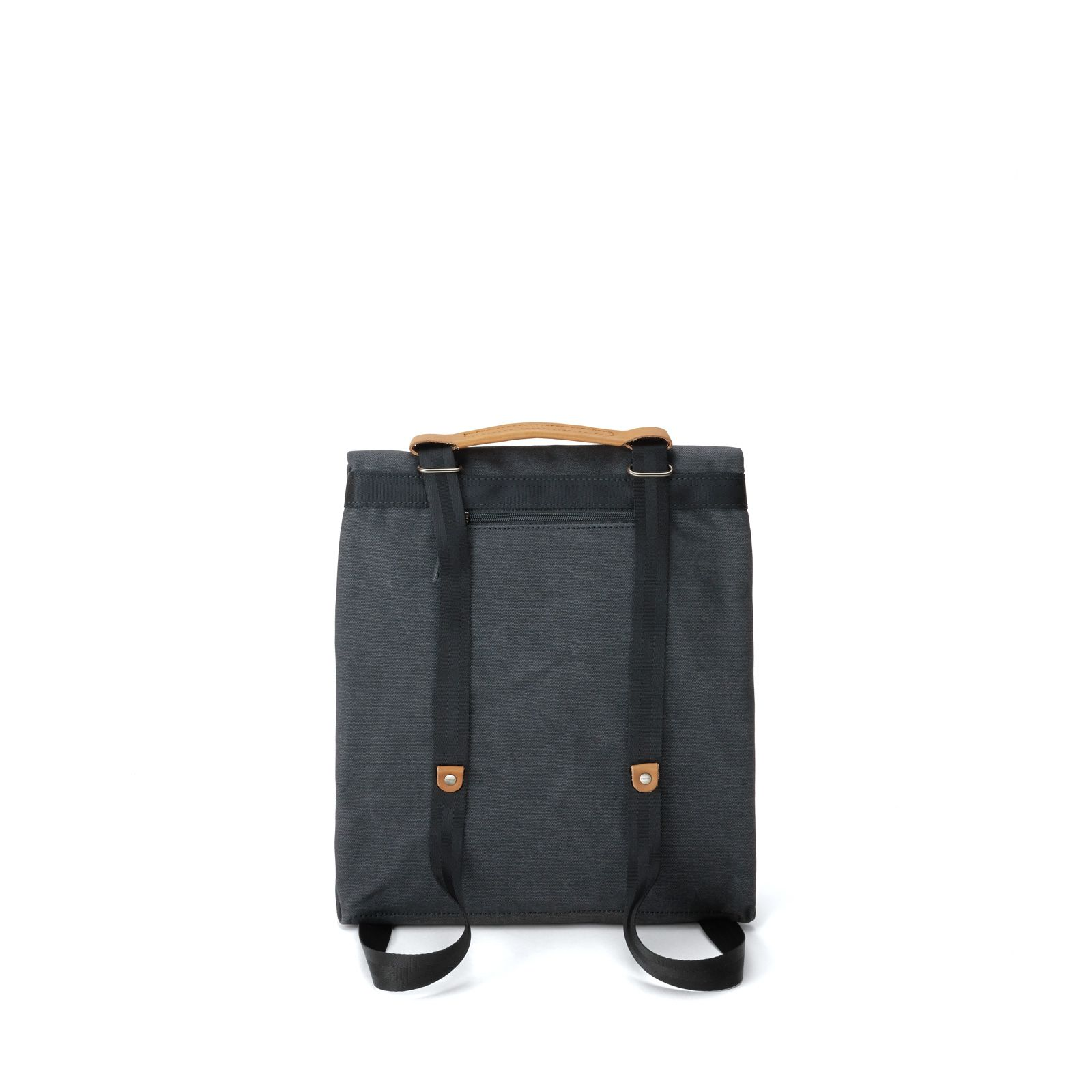 Small Tote - Organic Washed Black