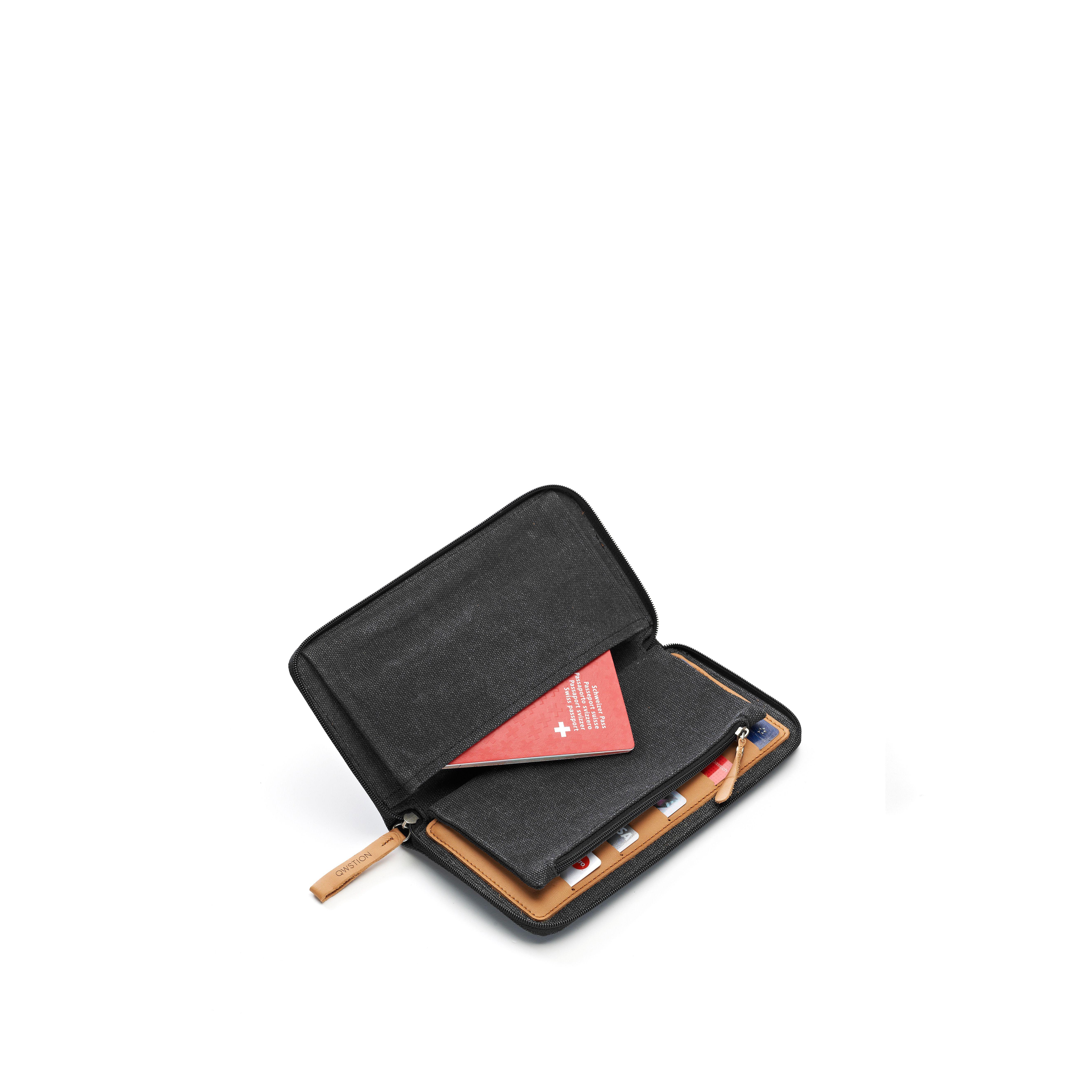 Travel Wallet (Washed Black) - Washed Black