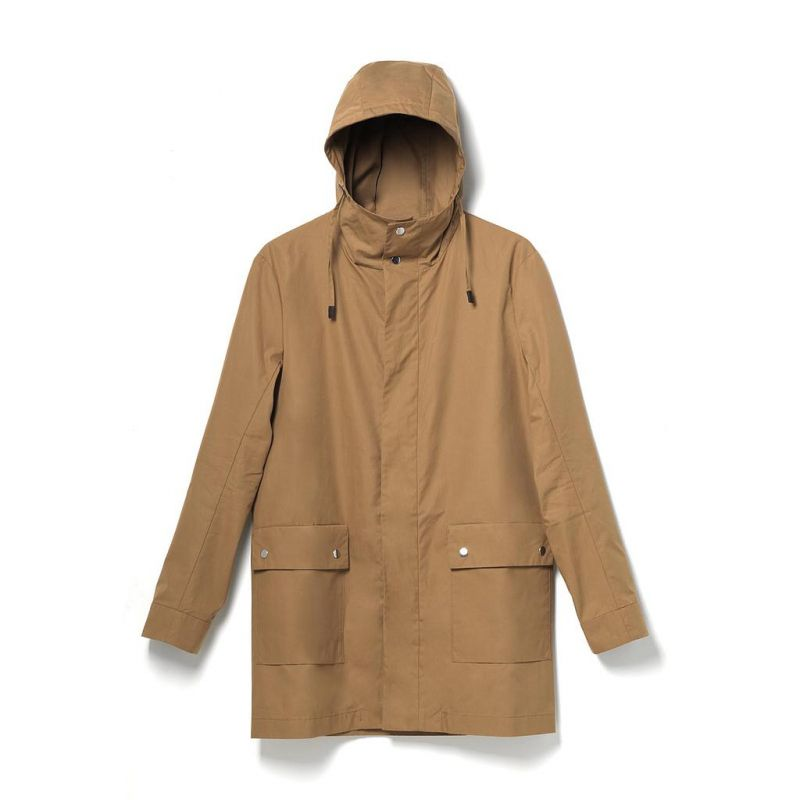 Qwstion All Weather Coat Sand Organic Sand