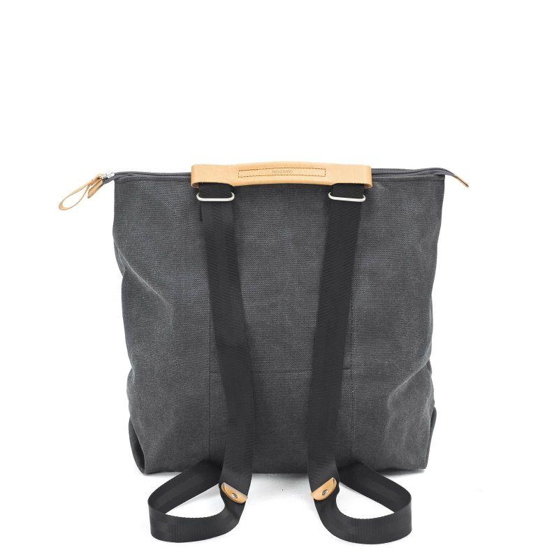 Simple Zipshopper - Washed Black