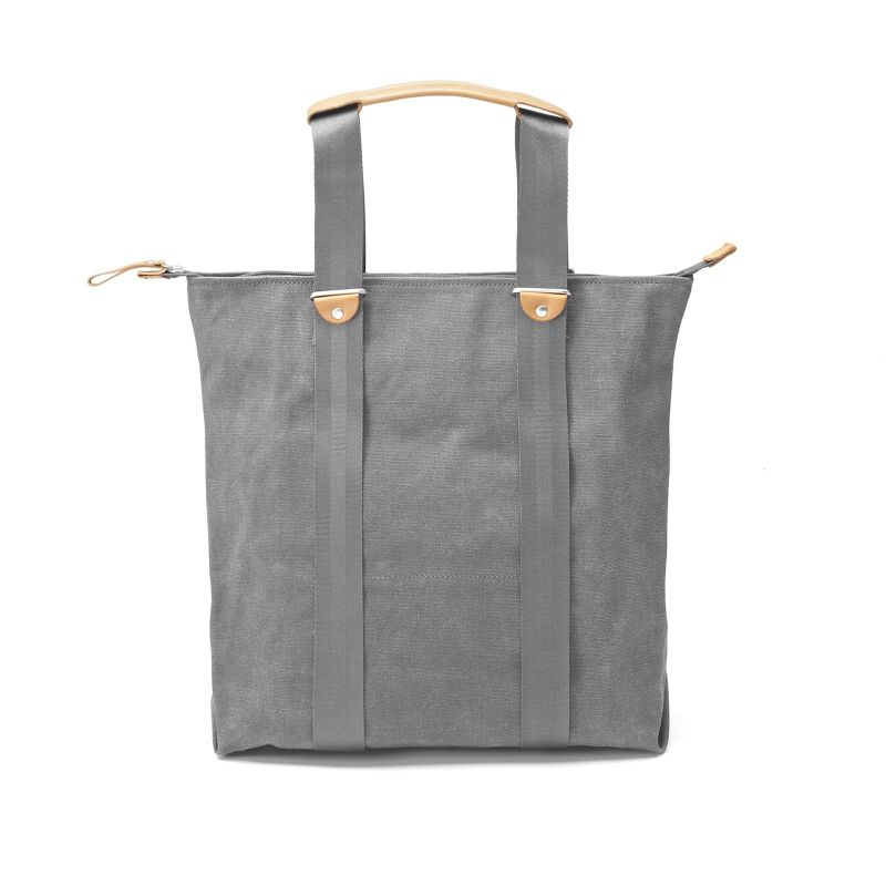Simple Zipshopper - Washed Grey